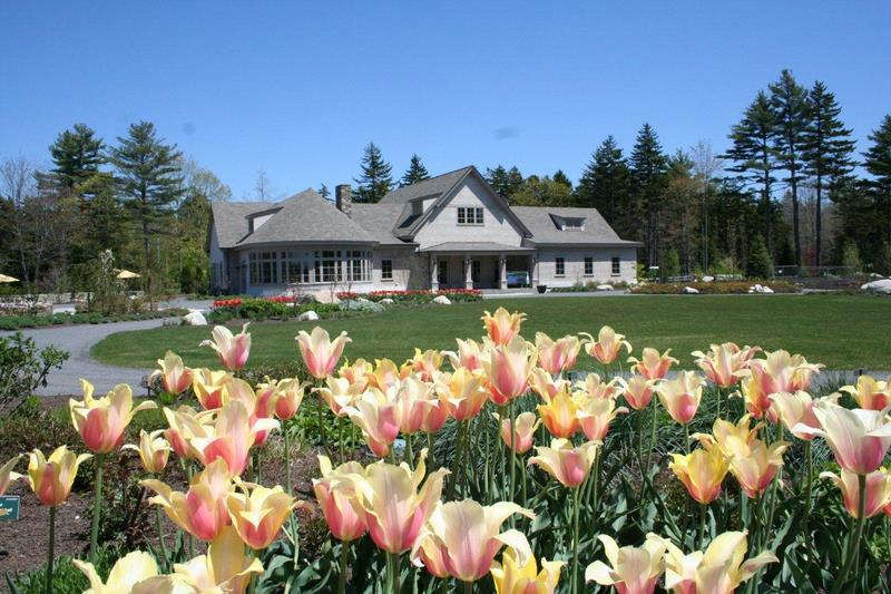 Beau Visitor Center, Photo Barbara Freeman, Coastal Maine Botanical Gardens