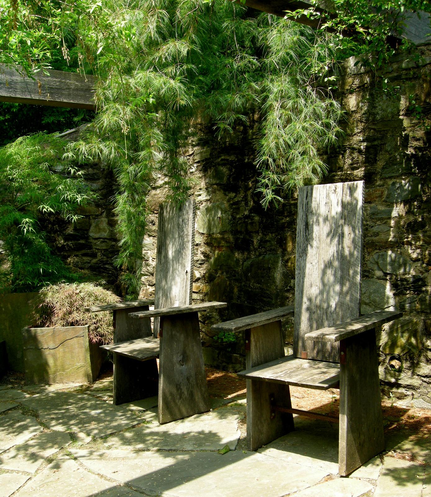 Oak Arbor Court: Chanticleer Part 2: Garden Seating