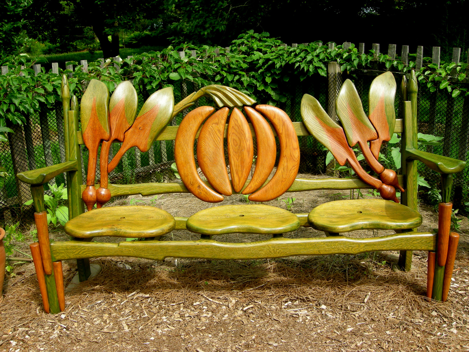 Chanticleer part 2 garden seating carolyn 39 s shade gardens for Jardin originel