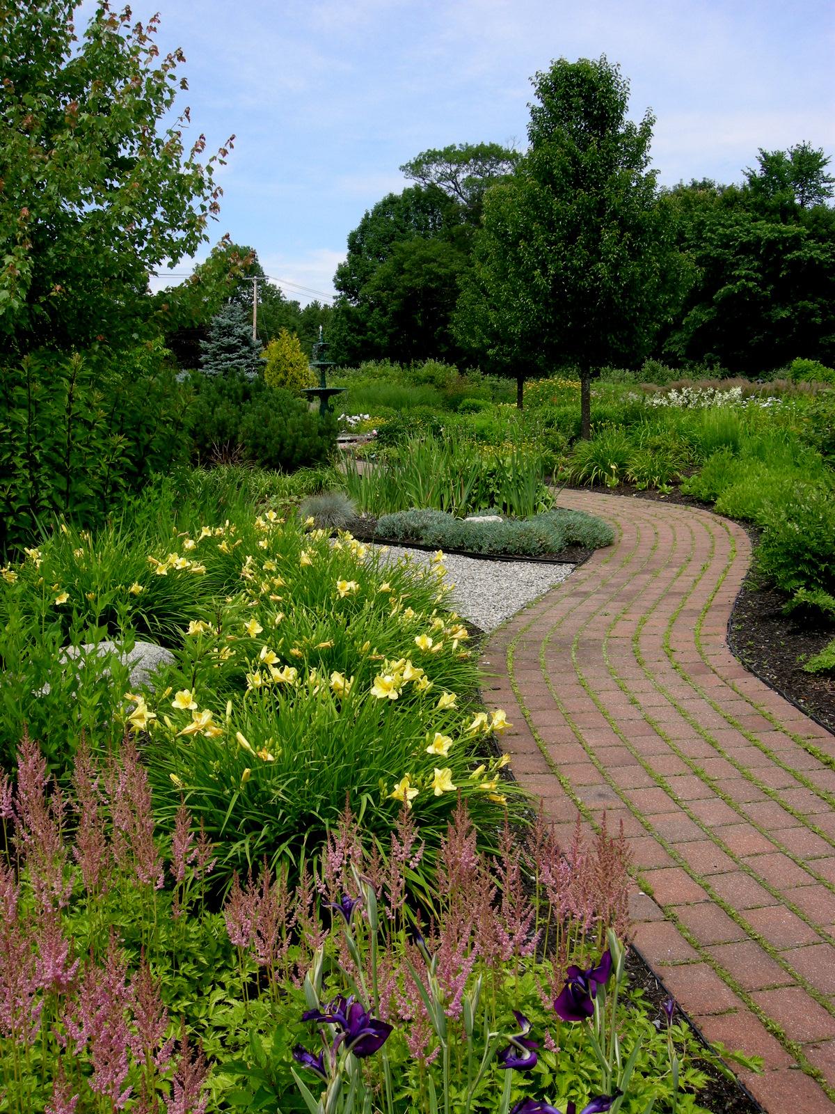 Secret Garden: Garden At Pineland Farms