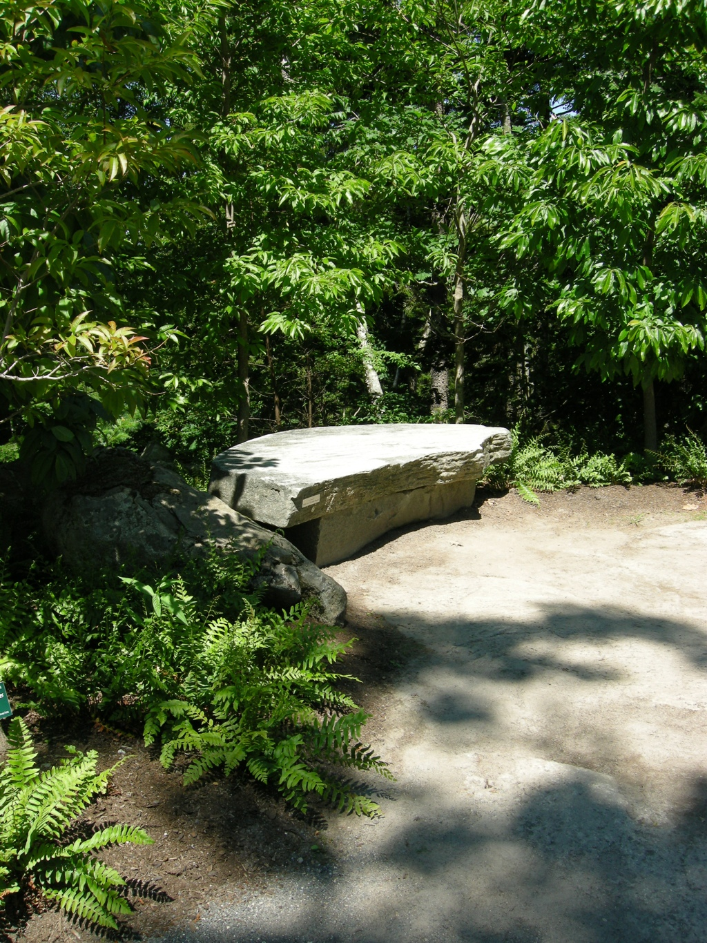 Natural Rock Garden Seating CAROLYNS SHADE GARDENS