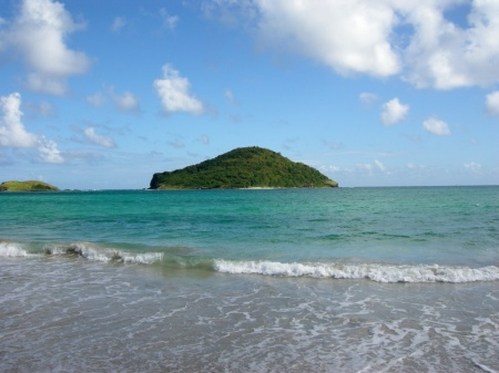 St. Lucia Sandy Beach