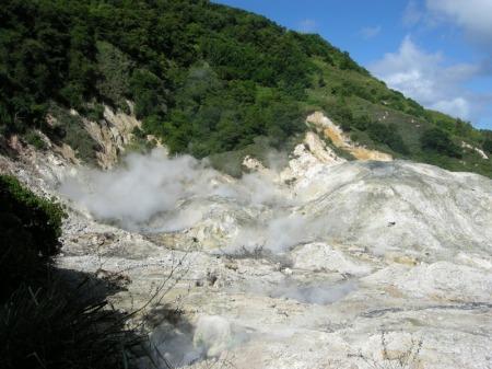 St. Lucia Sulphur Springs