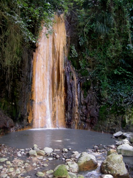 St Lucia Diamond Falls