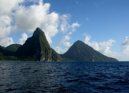 St Lucia Pitons Management Area