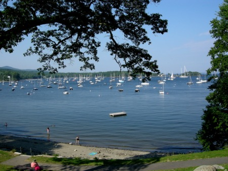 Laite Beach, Camden, Maine