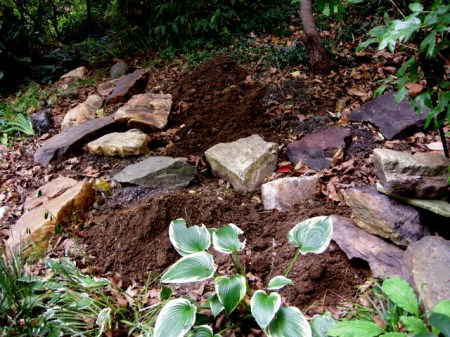 CSG Rock Garden Renovation Fall 2014