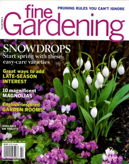 Fine Gardening cover