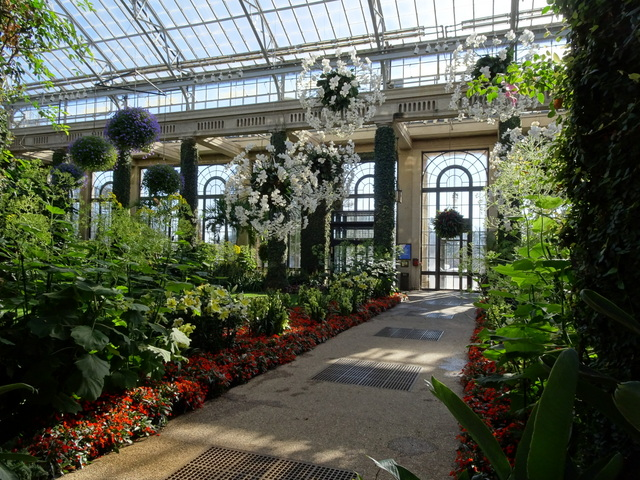 The Main Conservatory Is My Favorite Indoor Room At Longwood Gardens. This  Time Of Year It Is Filled With Orchids.